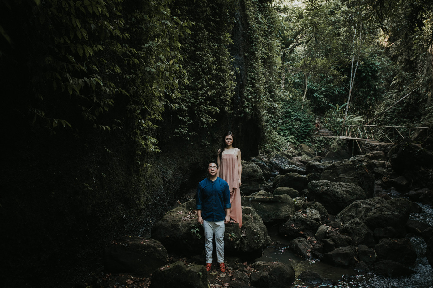 kintamani prewedding caroline ryan connection session iluminen bali wedding photographer destination photography tibumana waterfall